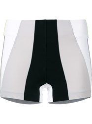 No Ka' Oi Colour Block Shorts Black