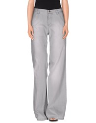 Trussardi Jeans Denim Denim Trousers Women Grey
