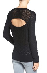 Chelsea 28 Women's Chelsea28 Back Cutout Sweater