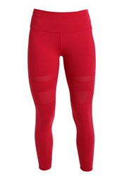 Lorna Jane Fadia Core Tights Red