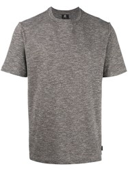 Paul Smith Ps By Heather Pattern T Shirt Grey