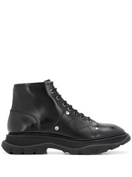 Alexander Mcqueen Tread Lace Up Boots 60
