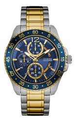 Guess W0797g1 Men S Bracelet Sport Watch Metallic