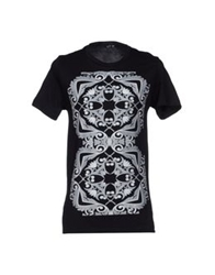 S D Side T Shirts Black