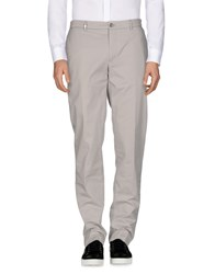 Versace Collection Casual Pants Light Grey