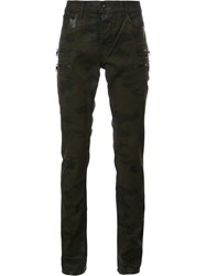Hudson 'Broderick Militant Camouflage' Jeans Green