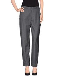 Pedro Del Hierro Trousers Casual Trousers Women Grey
