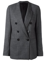 Neil Barrett Double Breasted Blazer Grey