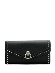 Mulberry Harlow Studded Long Wallet Black
