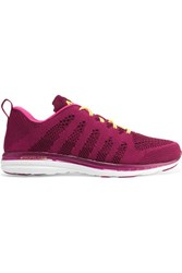 Athletic Propulsion Labs Techloom Pro Mesh Sneakers Burgundy
