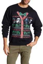 Fifth Sun Star Wars Holiday Sweater Black