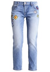 Replay Katewin Relaxed Fit Jeans Blue Denim