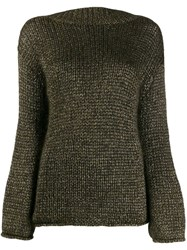 Forte Forte Metallic Thread Relaxed Fit Jumper 60