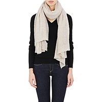 Botto Giuseppe Women's Gauze Oversized Scarf Tan