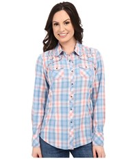 Ariat Welles Snap Shirt Multi Women's Long Sleeve Button Up