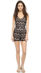 6 Shore Road By Pooja Colonial Lace Romper Black Rock