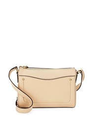 Cole Haan Esme Leather Crossbody Bag Fired Brick