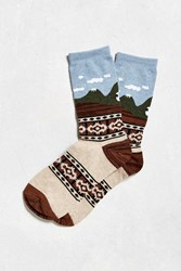 Urban Outfitters Mountain Trek Sock Multi