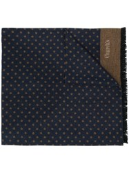 Church's Polka Dotted Scarf Blue