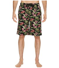 Tommy Bahama Floral Lounge Shorts Tropical Vacation Men's Pajama Multi