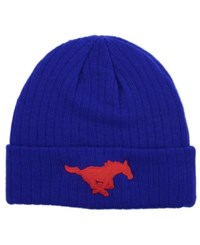 Top Of The World Southern Methodist Mustangs Campus Cuff Knit Hat Royalblue