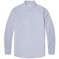 Head Porter Plus Simplicity Oxford Shirt Blue