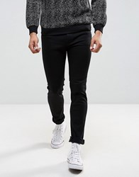 Selected Homme Jeans In Skinny Fit Black