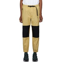 Nike Yellow And Black Acg Trail Lounge Pants