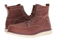 Keen Utility San Jose 6 Soft Gingerbread Off White Work Boots Brown