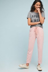 Saturday Sunday Dylan Cropped Joggers Pink