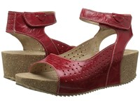 Josef Seibel Meike 01 Opera Women's Wedge Shoes Red