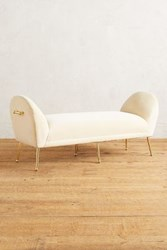 Anthropologie Elowen Bench Snow