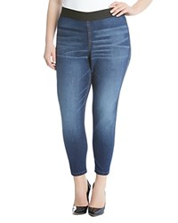 Karen Kane Plus Denim Leggings