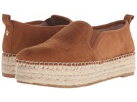 Sam Edelman Carrin Saddle Kid Suede Leather Women's Slip On Shoes Beige