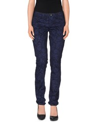 Timeout Trousers Casual Trousers Women Dark Blue