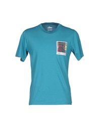 Vintage 55 T Shirts Turquoise