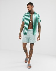 Lyle And Scott Pool Print Shorts In Light Blue