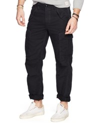 Denim And Supply Ralph Lauren Men's Field Cargo Pants Polo Black