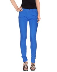 Balenciaga Denim Denim Trousers Women Bright Blue