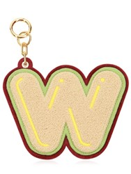 Chaos W Chenille Luggage Tag Champagne