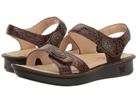 Alegria Vienna Cowgirl Tobacco Women's Shoes Brown