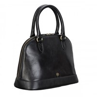 Maxwell Scott Bags Black Womens Leather Handbag