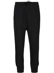 Arts And Science Tapered Drawstring Trousers Blue