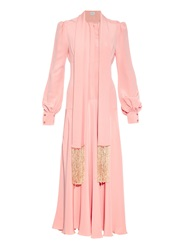 Hillier Bartley Bell Sleeve Silk Gown
