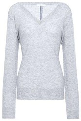 Duffy Cashmere Sweater Light Gray