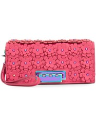 Zac Posen 'Earthette' Clutch Pink Purple