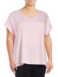 Lord And Taylor Boxy T Shirt Pink Cloud