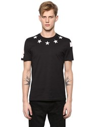 Givenchy Cuban Star Patches Jersey T Shirt