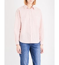 Closed Saima Cotton Shirt Burnt Brick