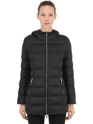 Emporio Armani Mountain Heavy Long Down Jacket Black